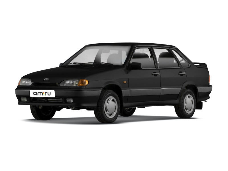 Подержанный ВАЗ (Lada) 2115, отличное состояние, черный металлик, 2010 года выпуска, цена 155 000 руб. в Челябинской области