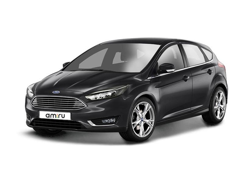 Новый авто Ford Focus, черный металлик, 2017 года выпуска, цена 941 500 руб. в автосалоне Форд Центр Рязань (Рязань, ш. Куйбышевское, д. 29)