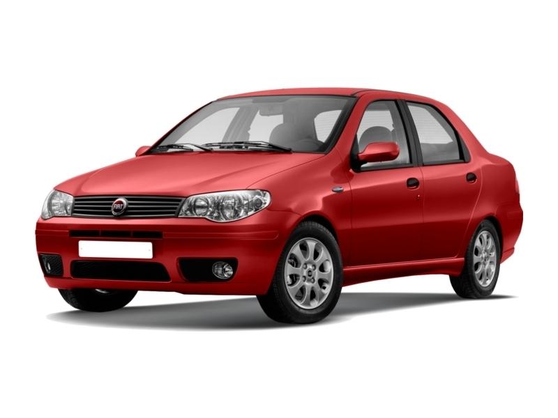 Подержанный Fiat Albea, хорошее состояние, красный , 2007 года выпуска, цена 185 000 руб. в ао. Ханты-Мансийском Автономном округе - Югре