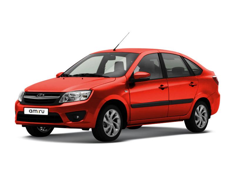 Новый авто ВАЗ (Lada) Granta, красный металлик, 2017 года выпуска, цена 499 400 руб. в автосалоне  ()