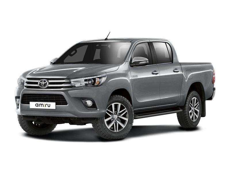 Новый авто Toyota Hilux, серебряный , 2017 года выпуска, цена 2 037 000 руб. в автосалоне  ()