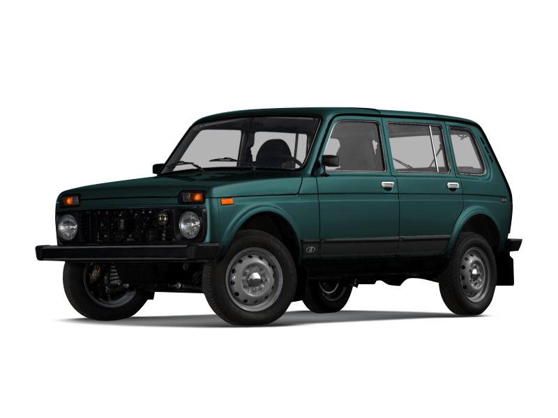 Подержанный ВАЗ (Lada) 4x4, хорошее состояние, зеленый , 2001 года выпуска, цена 100 000 руб. в Нижнем Новгороде