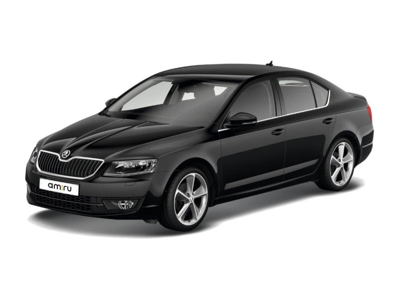 Новый авто Skoda Octavia, черный металлик, 2017 года выпуска, цена 1 376 400 руб. в автосалоне Авто-Славия (Калуга, ул. Автомобильная, д. 2)