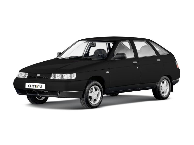 Подержанный ВАЗ (Lada) 2112, хорошее состояние, черный , 2007 года выпуска, цена 160 000 руб. в Челябинской области
