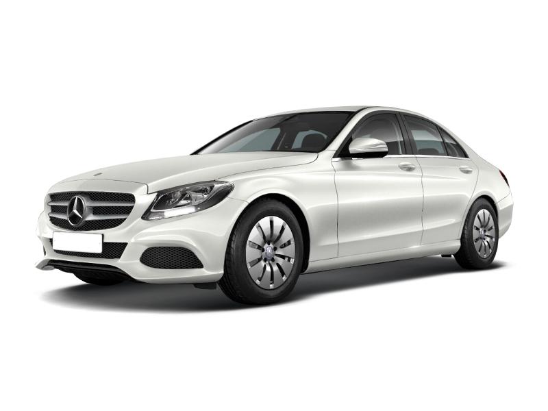 Новый авто Mercedes-Benz C-Класс, белый , 2015 года выпуска, цена 1 980 000 руб. в автосалоне УралАвтоХаус Магнитогорск (Магнитогорск, пр-кт Ленина, д. 97, лит. Б)