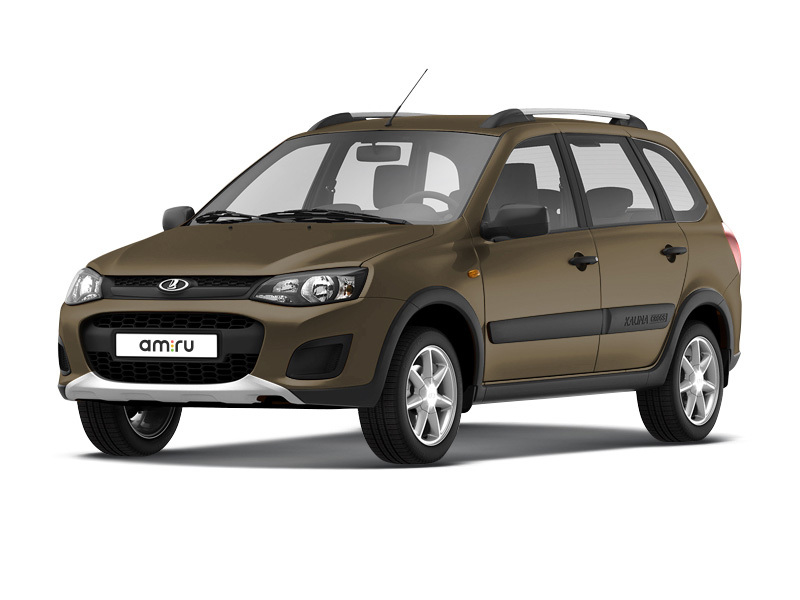 Новый авто ВАЗ (Lada) Kalina, коричневый , 2017 года выпуска, цена 568 600 руб. в автосалоне Медведь Lada (Красноярск, пр-кт Металлургов, д. 2М)
