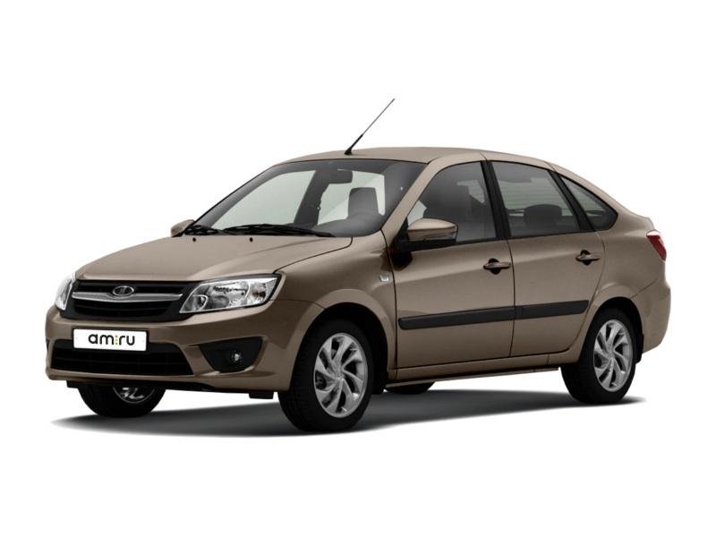 Новый авто ВАЗ (Lada) Granta, коричневый , 2017 года выпуска, цена 495 100 руб. в автосалоне  ()