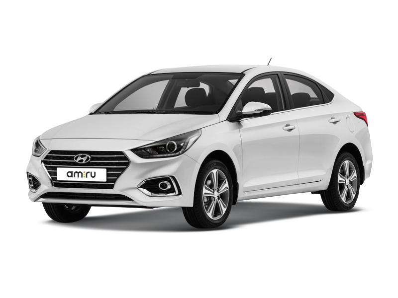 Новый авто Hyundai Solaris, белый , 2017 года выпуска, цена 744 900 руб. в автосалоне МОДУС Hyundai Пятигорск (Пятигорск, ул. Ермолова, д. 48)