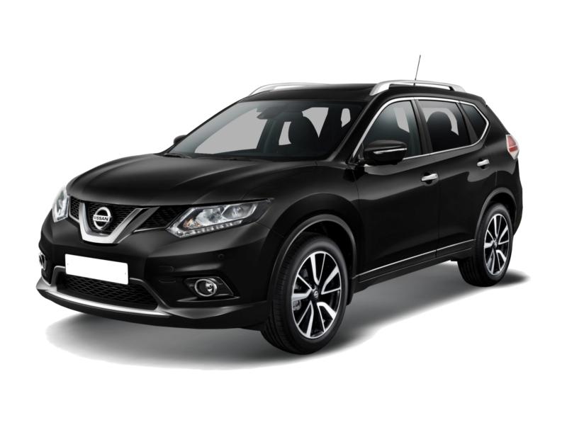 Новый авто Nissan X-Trail, черный металлик, 2017 года выпуска, цена 1 651 000 руб. в автосалоне Автомир Nissan Архангельск (Архангельск, пр-кт Московский, д. 35)