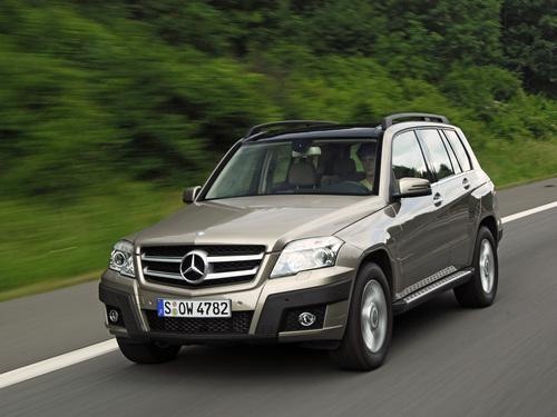 Фото автомобиля Mercedes-Benz GLK-Класс X204, ракурс: 45 цвет: коричневый