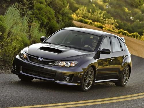 Фото автомобиля Subaru Impreza 3 поколение [рестайлинг], ракурс: 45 цвет: черный