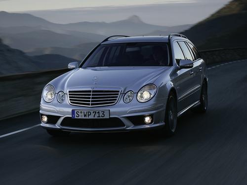Фото автомобиля Mercedes-Benz E-Класс W211/S211 [рестайлинг], ракурс: 45