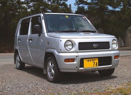 Фото автомобиля Daihatsu Naked 1 поколение, ракурс: 45