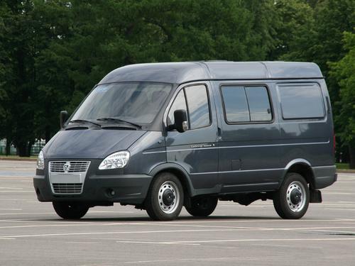 Фото автомобиля ГАЗ Соболь Бизнес [2-й рестайлинг], ракурс: 45 цвет: серый