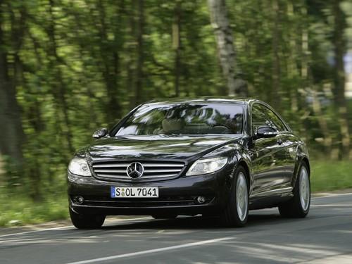 Фото автомобиля Mercedes-Benz CL-Класс C216, ракурс: 45