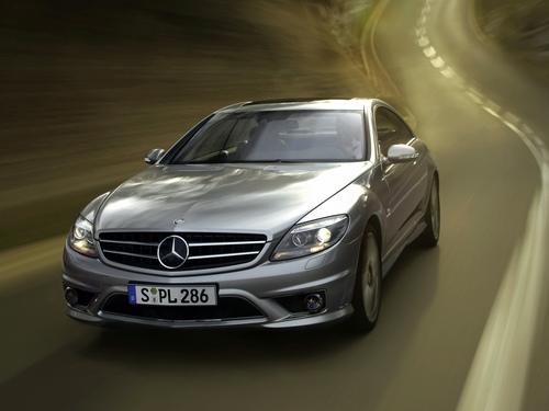Фото автомобиля Mercedes-Benz CL-Класс C216, ракурс: 45 цвет: серебряный