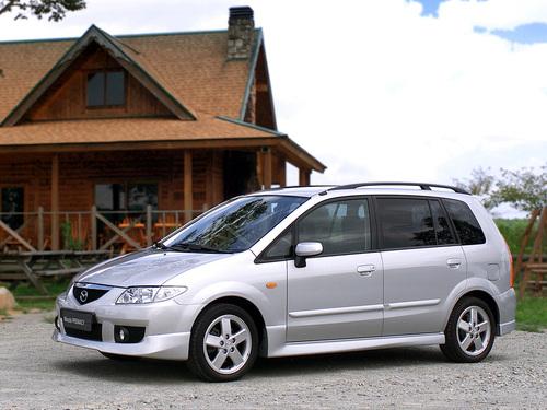 Фото автомобиля Mazda Premacy CP [рестайлинг], ракурс: 45