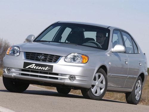 Фото автомобиля Hyundai Accent LC [рестайлинг], ракурс: 45