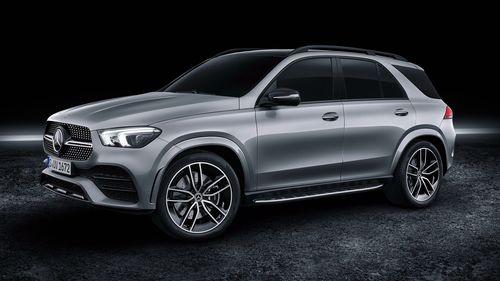 Фото автомобиля Mercedes-Benz GLE-Класс V167, ракурс: 45 цвет: серый