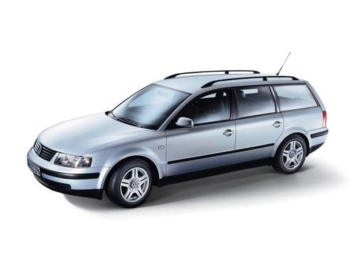 Фото автомобиля Volkswagen Passat B5, ракурс: 45 цвет: серебряный