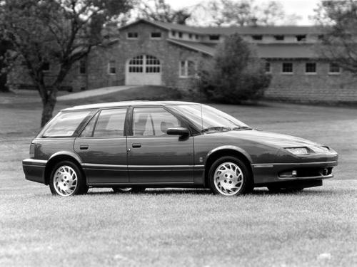 Фото автомобиля Saturn S-Series 1 поколение, ракурс: 270