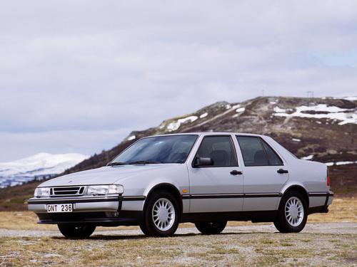 Фото автомобиля Saab 9000 2 поколение, ракурс: 45