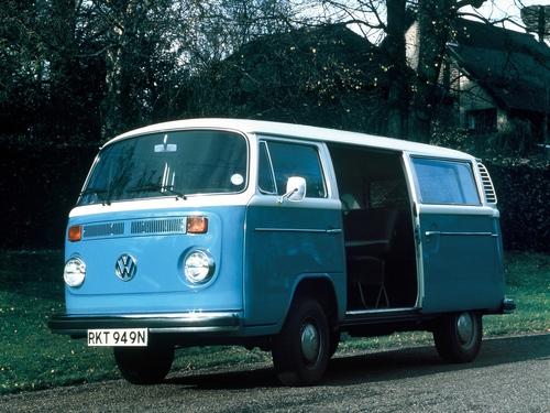 Фото автомобиля Volkswagen Transporter Т2 [рестайлинг], ракурс: 45