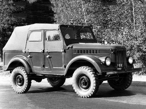 Фото автомобиля ГАЗ 69 1 поколение, ракурс: 315