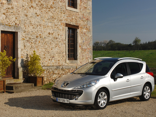 Фото автомобиля Peugeot 207 1 поколение, ракурс: 45