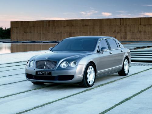 Фото автомобиля Bentley Continental 3 поколение, ракурс: 45