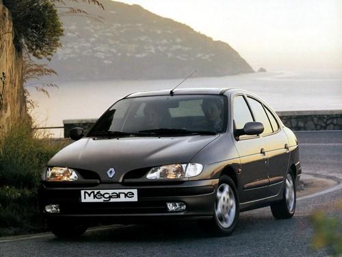 Фото автомобиля Renault Megane 1 поколение, ракурс: 45