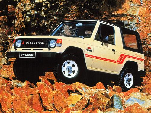Фото автомобиля Mitsubishi Pajero 1 поколение, ракурс: 45