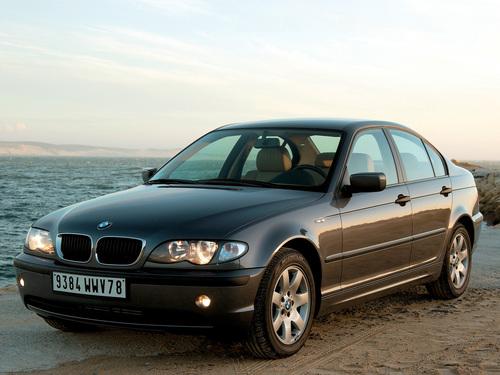 Фото автомобиля BMW 3 серия E46 [рестайлинг], ракурс: 45 цвет: черный