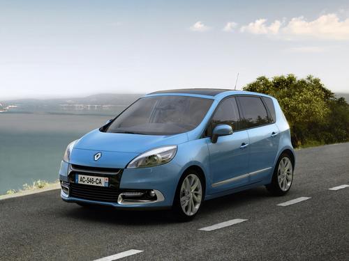 Фото автомобиля Renault Scenic 3 поколение [рестайлинг], ракурс: 45