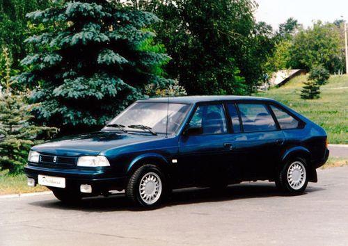 Фото автомобиля Москвич Юрий Долгорукий 1 поколение, ракурс: 45 цвет: синий