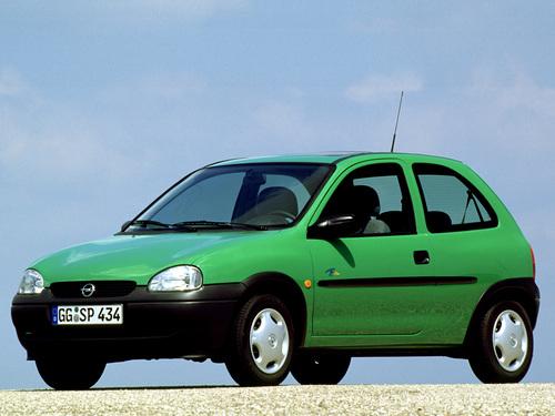 Фото автомобиля Opel Corsa B, ракурс: 45