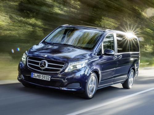 Фото автомобиля Mercedes-Benz V-Класс W447, ракурс: 45 цвет: синий