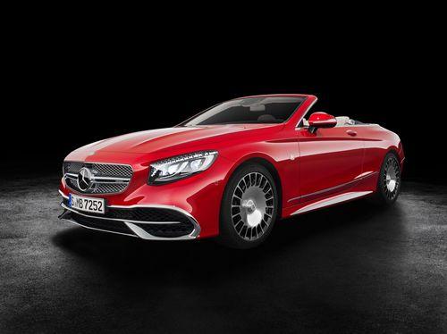 Фото автомобиля Mercedes-Benz S-Класс W222/C217/A217 [рестайлинг], ракурс: 45 цвет: красный