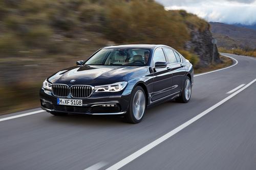 Фото автомобиля BMW 7 серия G11/G12, ракурс: 45 цвет: синий