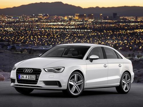 Фото автомобиля Audi A3 8V, ракурс: 45 цвет: белый