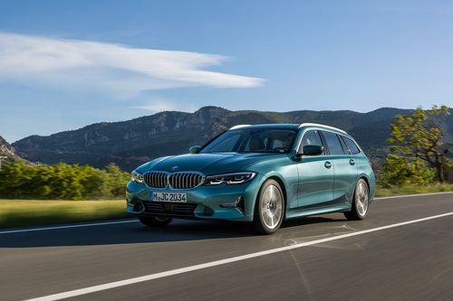 Фото автомобиля BMW 3 серия G20/G21/G28, ракурс: 45 цвет: аквамарин