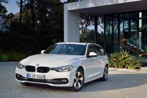 Фото автомобиля BMW 3 серия F30/F31/F34 [рестайлинг], ракурс: 45 цвет: белый