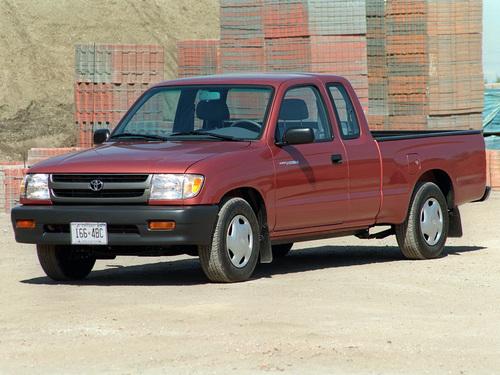 Фото автомобиля Toyota Tacoma 1 поколение [рестайлинг], ракурс: 45