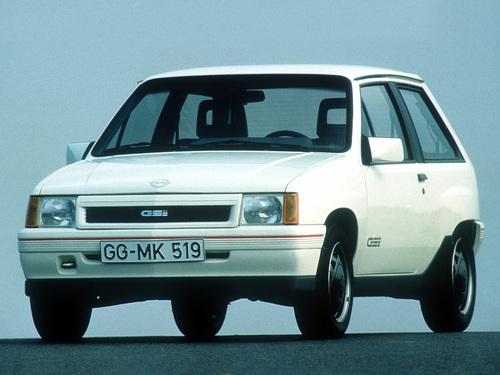Фото автомобиля Opel Corsa A [рестайлинг], ракурс: 45