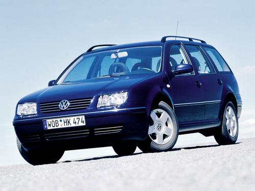 Фото автомобиля Volkswagen Bora 1 поколение, ракурс: 45