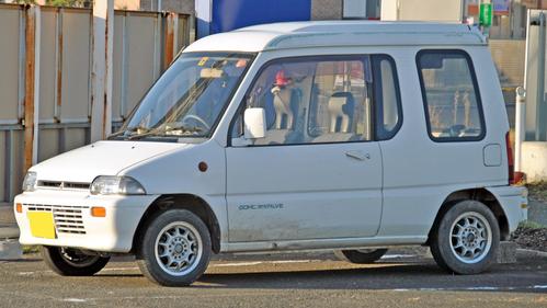 Фото автомобиля Mitsubishi Toppo 1 поколение, ракурс: 45