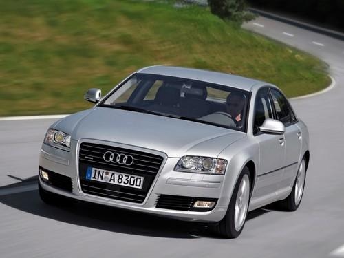 Фото автомобиля Audi A8 D3/4E [2-й рестайлинг], ракурс: 45