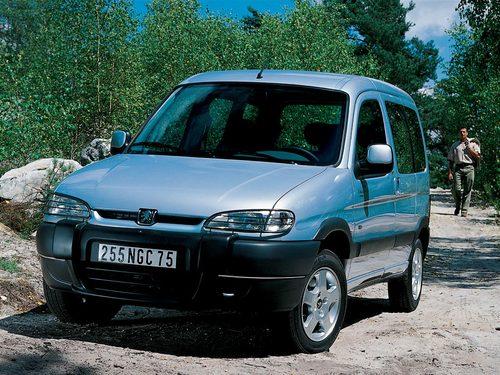 Фото автомобиля Peugeot Partner 1 поколение, ракурс: 45