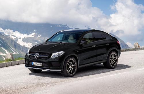 Фото автомобиля Mercedes-Benz GLE-Класс W166/C292, ракурс: 45 цвет: коричневый