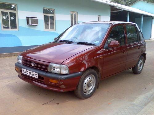 Фото автомобиля Maruti Zen 1 поколение, ракурс: 45
